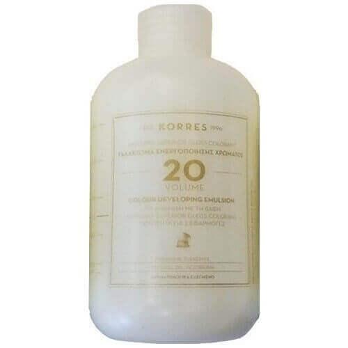 Korres Abyssinia Superior Gloss Colorant 20 Volume Γαλάκτωμα Ενεργοποίησης Χρώματος 150ml