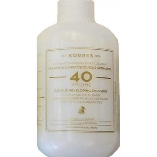Korres s Abyssinia Superior Gloss Colorant 40 Volume Γαλάκτωμα Ενεργοποίησης Χρώματος 150ml