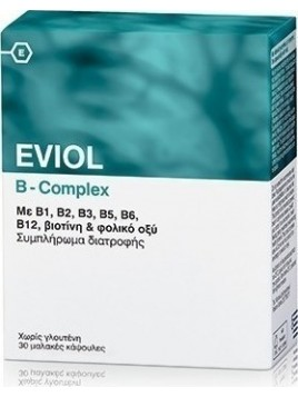 Eviol B Complex 30 ταμπλέτες