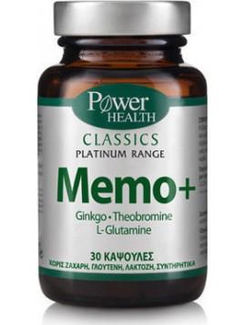 Power Health Classics Platinum Memo+ 30 κάψουλες