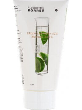 Korres Lime Styling Gel Normal Hold Normal Hold 150ml