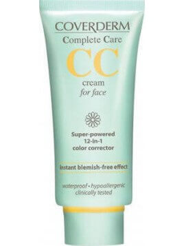 Coverderm Complete Care CC Cream for Face SPF25 Soft Brown 40ml