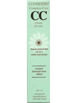 Coverderm Complete Care CC Cream for Eyes SPF15 Soft Brown 15ml