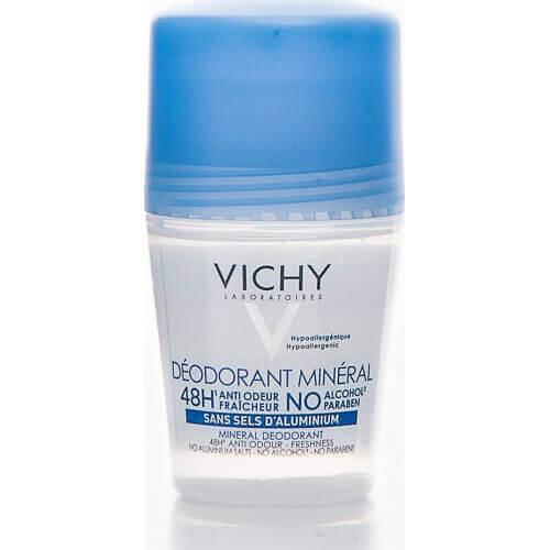 Vichy Deodorante Mineral 48h Roll-On 50ml