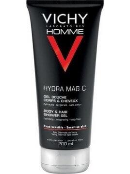 Vichy Homme Mag-C Gel-Douche 200ml