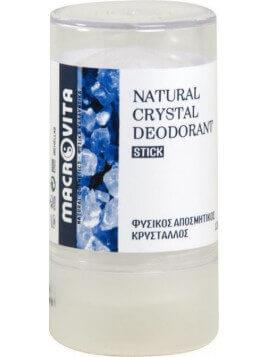 Macrovita Natural Crystal Deodorant Stick 120gr