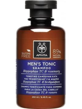 Apivita Men's Tonic Κατά της Ανδρικής Τριχόπτωσης με Hippophae TC & Δενδρολίβανο 250ml