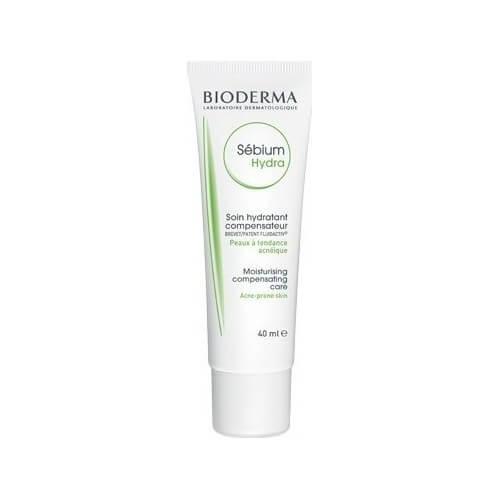 Bioderma Sebium Hydra Moisturising Compensating Care Acne-Prone Skin 40ml