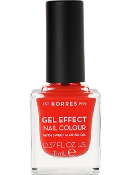 Korres Gel Effect Nail Colour 45 Coral