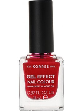 Korres Gel Effect Nail Colour 51 Rosy Red