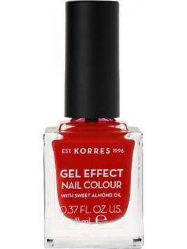 Korres Gel Effect Nail Colour 53 Royal Red