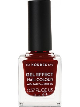 Korres Gel Effect Nail Colour 59 Wine Red