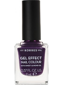 Korres Gel Effect Nail Colour 75 Violet Garden