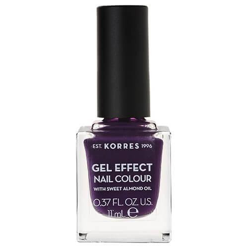 Korres Gel Effect Nail Colour 75 Violet Garden