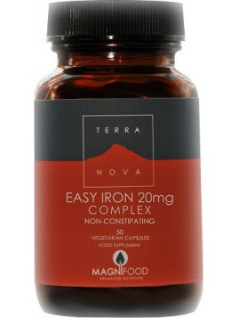 TerraNova Easy Iron 20mg Complex 50 φυτικές κάψουλες