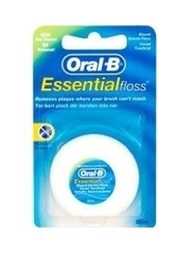 Oral-B Οδοντικό Νήμα Oral-B Κηρωμένο Essential Mint 50m