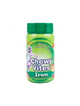 Vican Chewy Vites Iron 60 μασώμενα δισκία