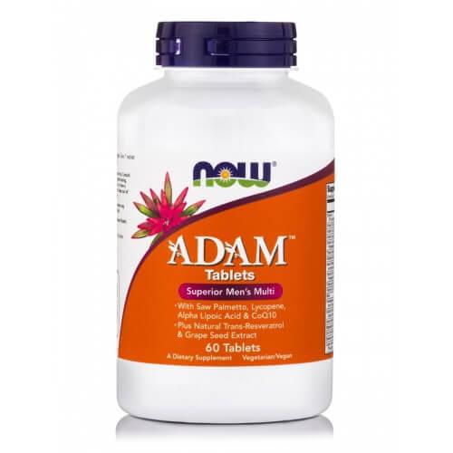 Now Foods Adam 60 ταμπλέτες