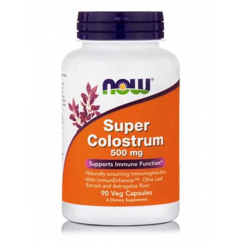 Now Foods Super Colostrum 500mg 90 φυτικές κάψουλες