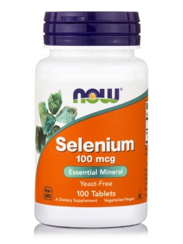 Now Foods Selenium 100mcg 100 ταμπλέτες