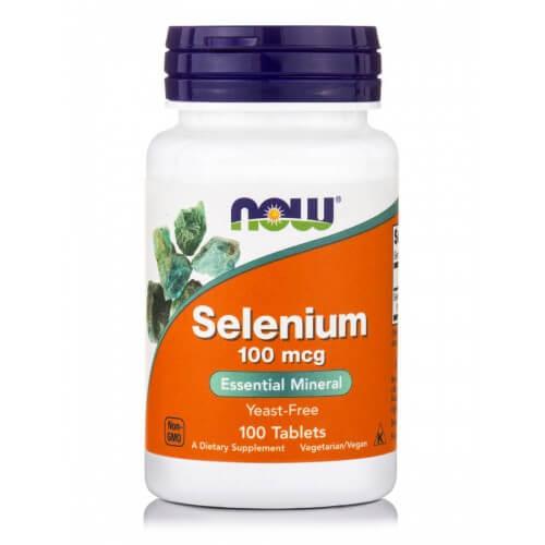 Now Foods Selenium 100mcg 100 ταμπλέτες