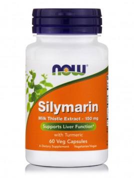 Now Foods Silymarin Milk Thistle Extract 150mg 60 φυτικές κάψουλες