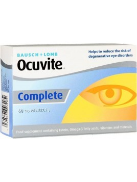 Bausch & Lomb Ocuvite Complete Caps 60 ταμπλέτες