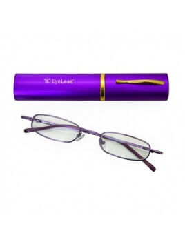 Vitorgan Lead Pocket Γυαλιά Πρεσβυωπίας Τσέπης Χρώματος Μωβ  Βαθμός 2.25 1τμχ