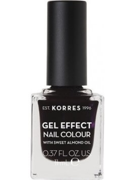 Korres Gel Effect Nail Colour 76 Smokey Plum