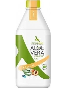 Litinas Aloe Vera Gel 1000ml Peach