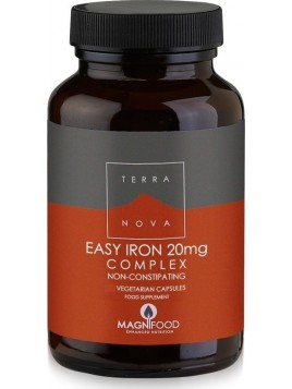 TerraNova Easy Iron 20mg Complex 100 φυτικές κάψουλες