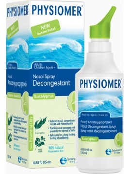 Physiomer Hypertonic Eucalyptus 135ml από 6 Ετών