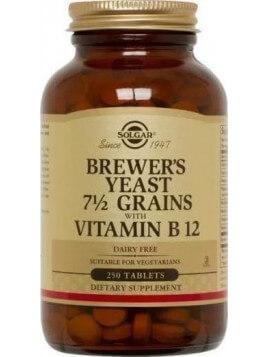 Solgar Brewer's Yeast Tabs 250 ταμπλέτες