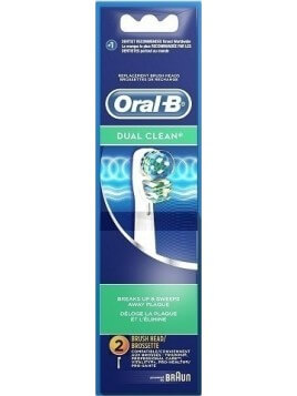 Oral-B Dual Clean 2τμχ