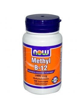 Now Foods Methyl B-12 1000mcg 100 παστίλιες