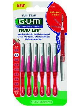 GUM Trav-Ler Micro Fine Cylindrical 0.8mm