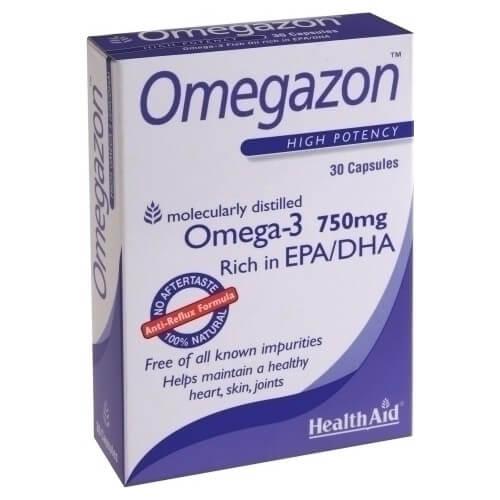 Health Aid Omegazon 750mg 30 κάψουλες