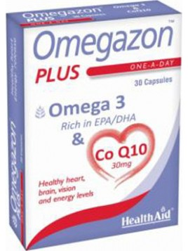 Health Aid Omegazon Plus 30 κάψουλες