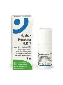 Thea Synapsis Hyabak Protector Eye Drops (κολλύριο) 5ml