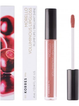 Korres Morello Voluminous Lip Gloss 04 Honey Nude