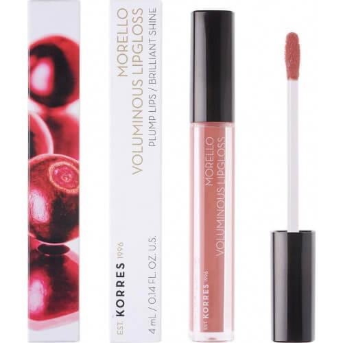 Korres Morello Voluminous Lip Gloss 04 Honey Nude