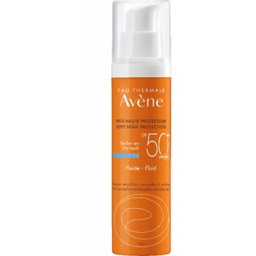 Avene Sun Solaire Dry Touch Fluid SPF50+ 50ml