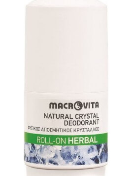 Macrovita Natural Crystal Herbal Roll-On Roll-On 50ml