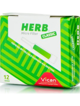 Vican Herb Micro Filter 12τμχ