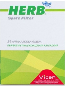 Vican Herb Spare Filter 24τμχ