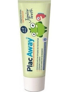 PlacAway Junior Παιδική Οδοντόκρεμα 6+ 50ml