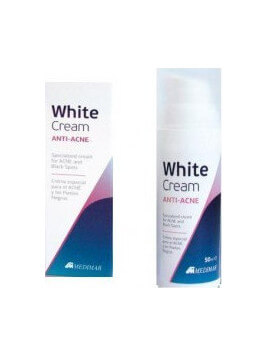 Medimar White Cream Anti-Acne 50ml