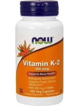 Now Foods Vitamin K-2 100mcg 100 φυτικές κάψουλες