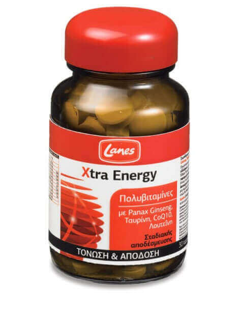 Lanes Mult Xtra Energy 30 tabs