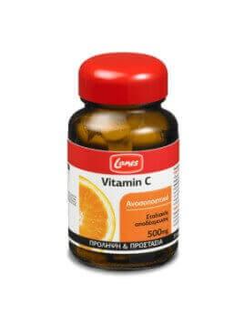 Lanes Vitamin C 500mg Σταδιακής Αποδεύσμευσης 30 tabs